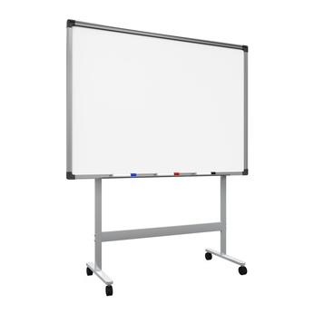 Blank Whiteboard Isolated